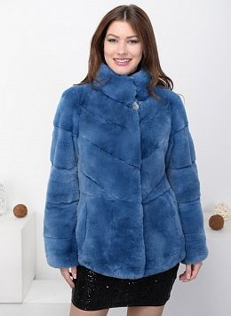 Куртка из кролика рекс Сима 01, КАЛЯЕВ