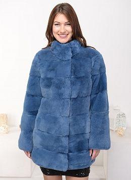 Куртка из кролика рекс Джульетта 01, КАЛЯЕВ