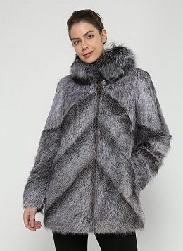 Куртка из нутрии Линесса 01, КАЛЯЕВ