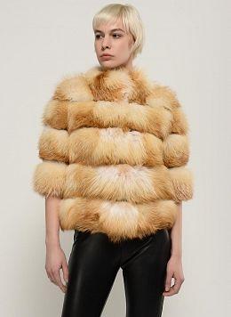 Куртка из лисы Джульетта 01, КАЛЯЕВ