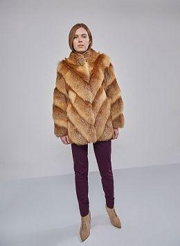 Куртка из лисы Холи 01, Олимп