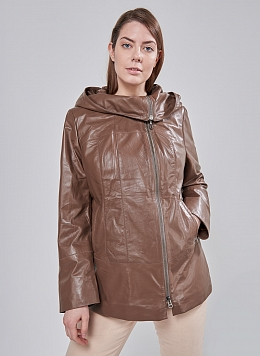 Кожаная куртка утепленная 01, Perre