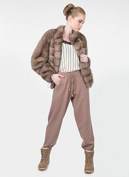 Куртка из куницы Криста 02, КАЛЯЕВ