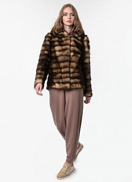 Куртка из хоря Джульетта 01, КАЛЯЕВ