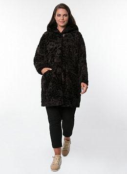 Пальто прямое из овчины 01, КАЛЯЕВ