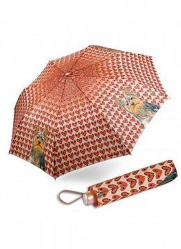 Зонт автоматический облегченный женский 01, КАЛЯЕВ