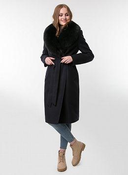 Пальто зимнее приталенное шерстяное 61, КАЛЯЕВ