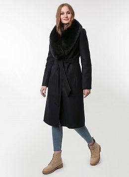 Пальто зимнее приталенное шерстяное 62, КАЛЯЕВ