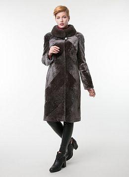 Пальто прямое из астрагана 01, КАЛЯЕВ