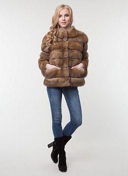 Куртка из куницы Джульетта 1 01, КАЛЯЕВ