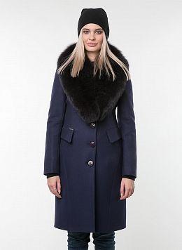 Пальто зимнее приталенное шерстяное 83, КАЛЯЕВ