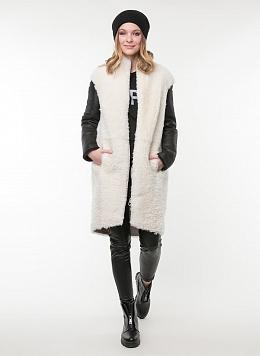 Пальто прямое из овчины 03, КАЛЯЕВ