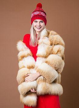 Куртка из лисы Джульетта 1 01, КАЛЯЕВ
