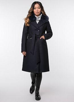 Пальто зимнее приталенное шерстяное 67, КАЛЯЕВ
