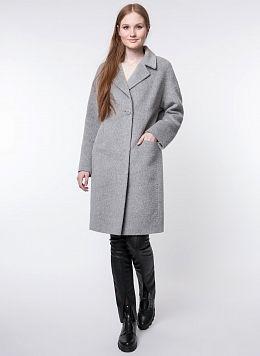 Пальто прямое шерстяное 33, КАЛЯЕВ