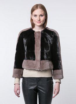 Норковая куртка Лаура 01, КАЛЯЕВ