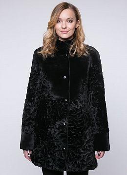 Пальто приталенное из овчины 02, КАЛЯЕВ