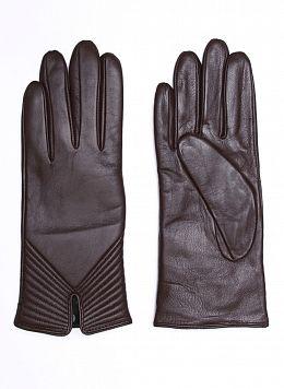 Перчатки кожаные женские 01, КАЛЯЕВ