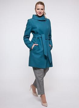 Пальто приталенное шерстяное 25, КАЛЯЕВ