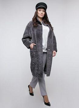 Пальто кокон из овчины 08, КАЛЯЕВ