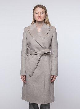 Пальто приталенное шерстяное 80, КАЛЯЕВ