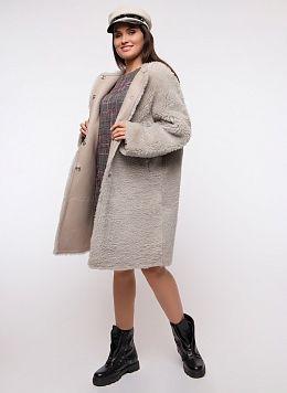 Пальто прямое из овчины 13, КАЛЯЕВ