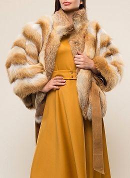 Куртка из лисы Эрика 01, КАЛЯЕВ
