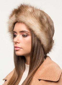 Шляпа из норки 01 с утеплителем, КАЛЯЕВ