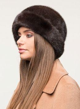 Шляпа из норки 26 с утеплителем, КАЛЯЕВ