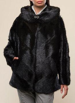 Куртка из нутрии Эрика 01, КАЛЯЕВ