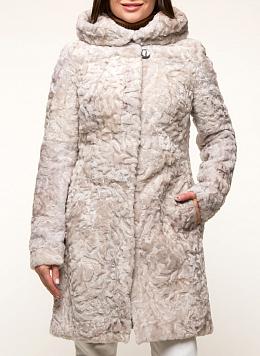 Пальто приталенное из овчины 01, КАЛЯЕВ