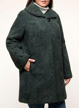 Пальто прямое из овчины 01, Anna Romanova furs