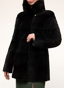 Куртка из нутрии Джульетта 01, КАЛЯЕВ
