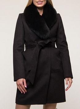 Пальто зимнее приталенное шерстяное 70, КАЛЯЕВ