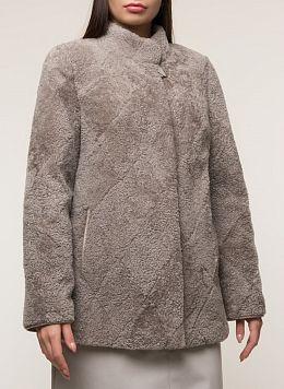 Пальто приталенное из овчины 03, Anna Romanova furs