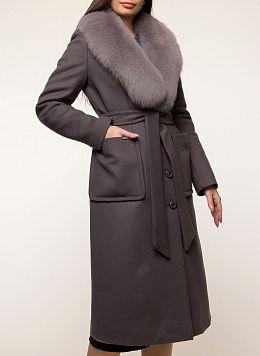 Пальто зимнее приталенное шерстяное 29, КАЛЯЕВ