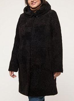Пальто приталенное из овчины 05, КАЛЯЕВ