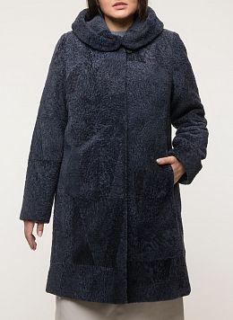 Пальто приталенное из овчины 05, Anna Romanova furs
