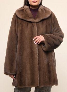 Норковая куртка Автоледи 01, КАЛЯЕВ
