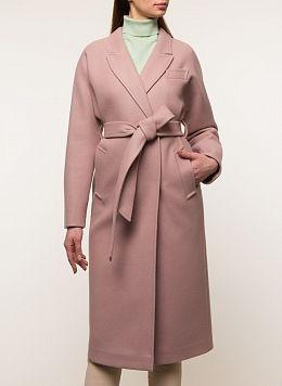 Пальто прямое полушерстяное 30, Заря Моды
