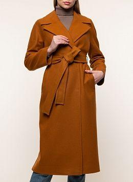 Пальто прямое шерстяное 76, idekka