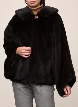 Норковая куртка Дея 01, КАЛЯЕВ