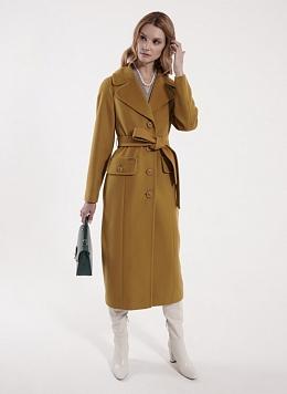 Пальто прямое шерстяное 75, idekka