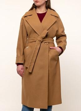 Пальто прямое шерстяное 70, КАЛЯЕВ