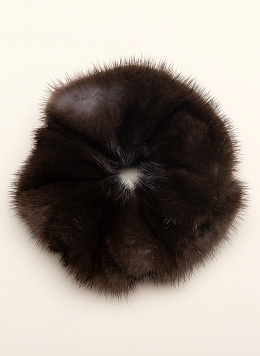 Резинка для волос из норки 01, КАЛЯЕВ