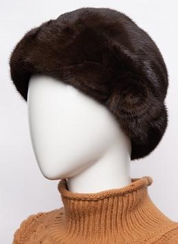 Шляпа из норки 117 с утеплителем, КАЛЯЕВ