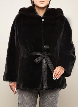 Норковая куртка Анастасия 01, КАЛЯЕВ