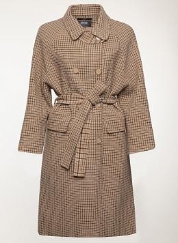 Пальто без подкладки шерстяное 154, КАЛЯЕВ