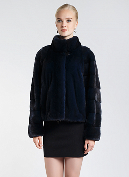 Короткая норковая шуба 09, Fur Fashion Industry