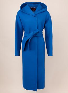 Пальто полушерстяное с капюшоном 69, Заря Моды